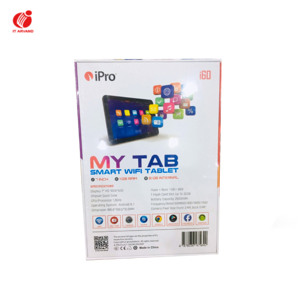 تبلت iPro i60 My Tab Smart Wifi